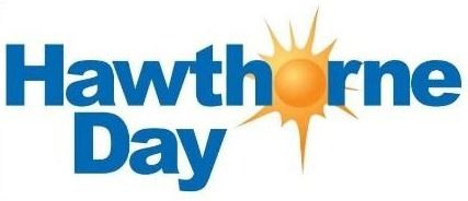 Hawthorne Day Logo without a date Opens in new window